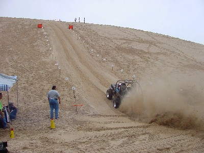 CJ2J On Mount Baldy Hill Climb, 9/01
